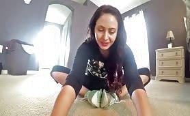 Yoga farting session
