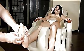 Huge pile of shit in white panties