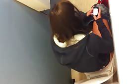 Spying on a school girl
