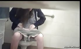 Hidden camera caught hot girls pooping
